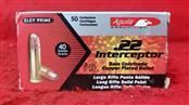 Aguila 22lr Interceptor 40gr Ammo